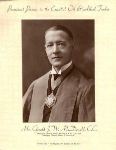 Our founder, Gerald JW McDonald