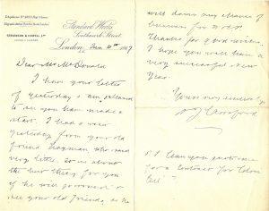 History-Stevenson-Howell-letter-19170106