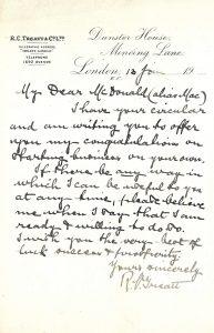 History-Treatt-letter-19170113